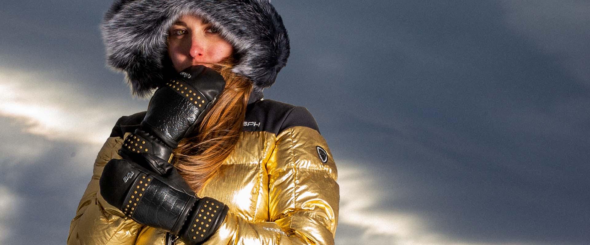 Women's warmest mitten - Dusty Mitt